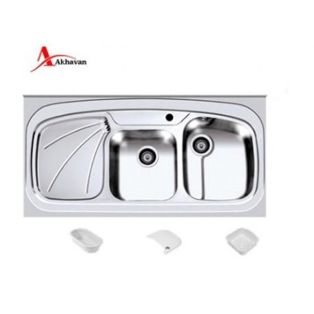 سینک ظرفشویی روکار اخوان کد 25SD
