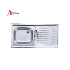 سینک ظرفشویی روکار اخوان کد 123