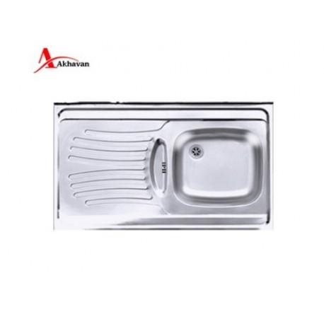 سینک ظرفشویی روکار اخوان کد 125